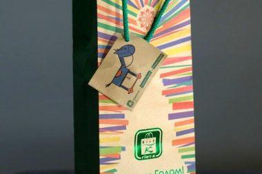 печать пакетов с логотипом киев
