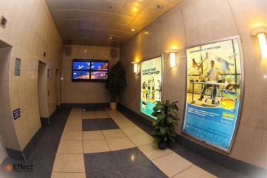 размещение рекламы в бизнес центрах киев