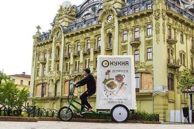 реклама на велобордах киев