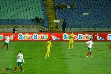 реклама на стадионе одесса