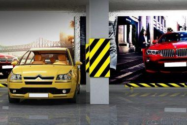 реклама в паркингах киева