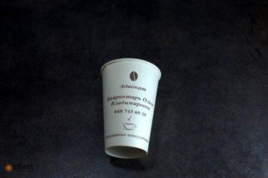 одноразовые стаканы с логотипом киев