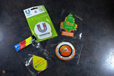изготовление ароматизаторов с логотипом киев