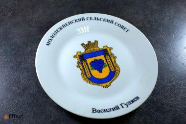 печать на тарелках одесса