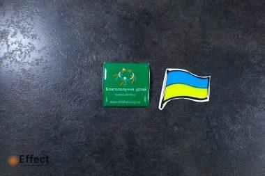 печать объемных наклеек днепропетровск