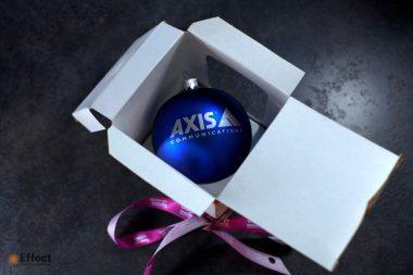 новогодние шары с логотипом киев