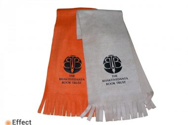 изготовление шарфов с логотипом киев