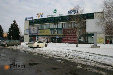 реклама в аэропорту Запорожья