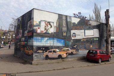 реклама граффити одесса