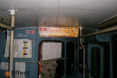 размещение рекламы в троллейбусах одесса