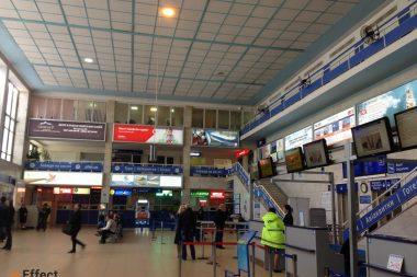 реклама в аэропорту Одесса