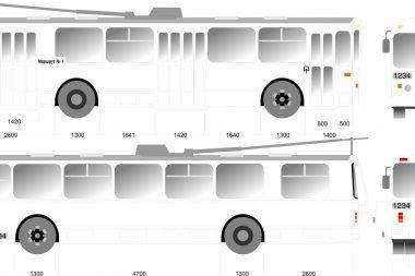 брендирование троллейбусов