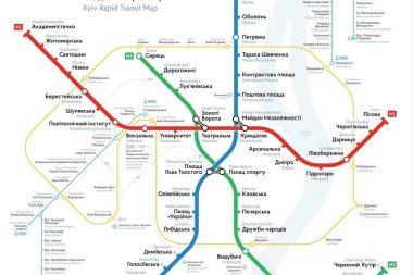 размещение рекламы в метро Киева