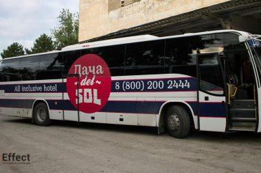 размещение рекламы на автобусах киев
