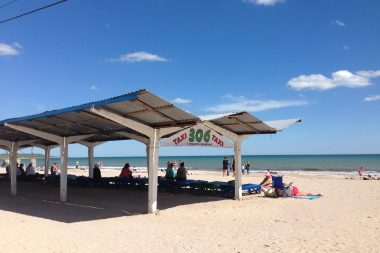 реклама на пляжах одесса